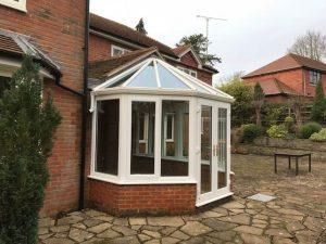 cliddesden conservatory after
