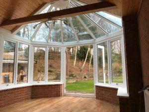 cliddesden conservatory inside