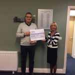 Cheque Presentation to St. Michael's Hospice Basingstoke