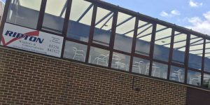 Ripton Windows supporting Basingstoke Hockey Club