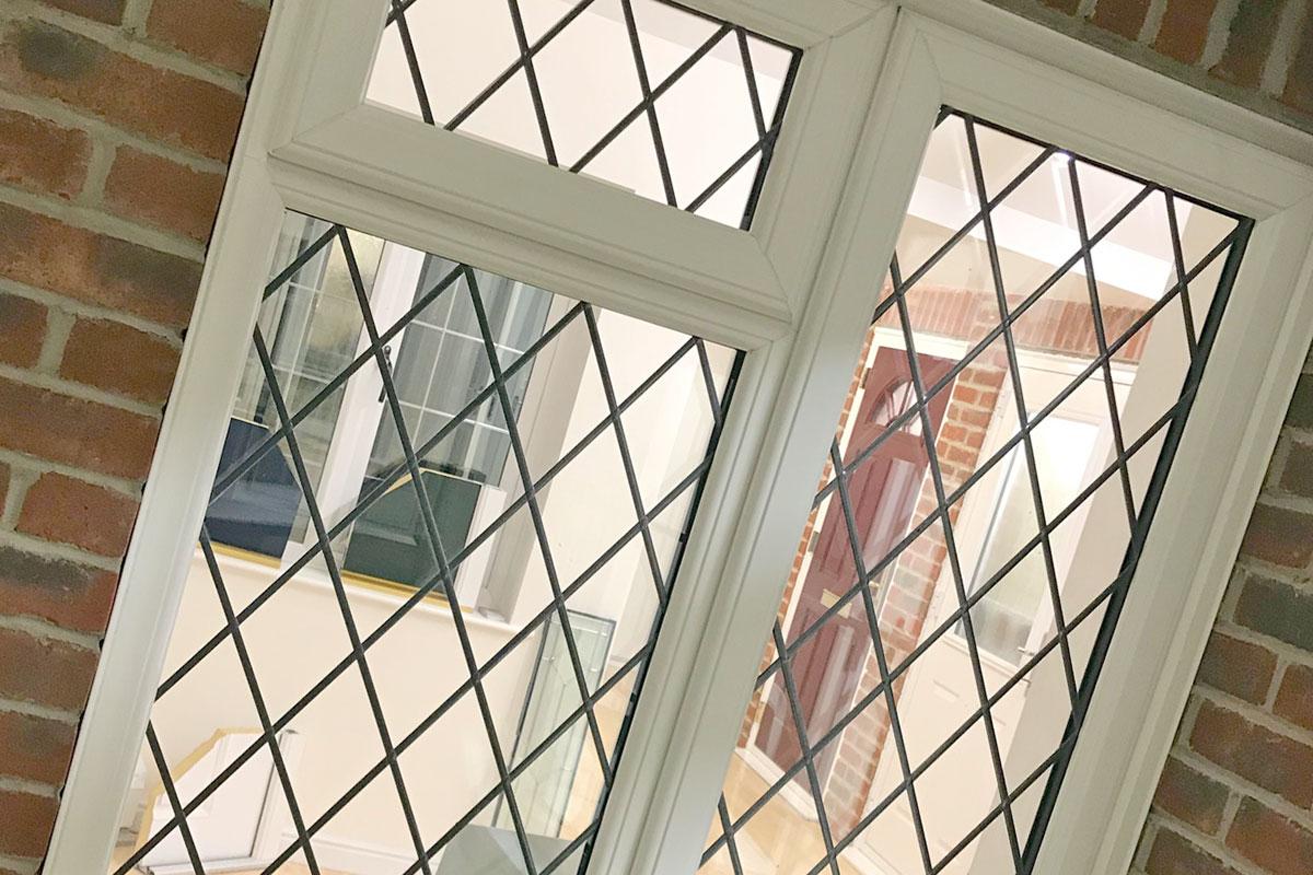casement leaded windows