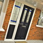 What are composite doors made of?