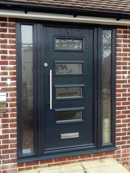 Dark Blue Composite Door in Basingstoke