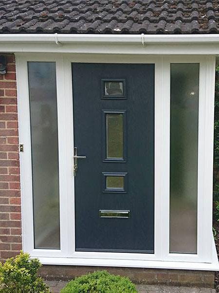 Dark Blue composite Door