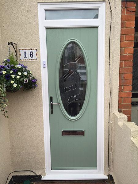 Bespoke composite door in Basingstoke