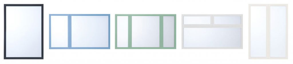 Lumi window configurations