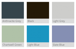 Lumi External Frame Colours