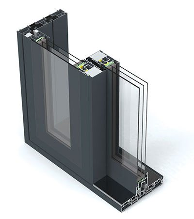 Lumi lift and slide doors