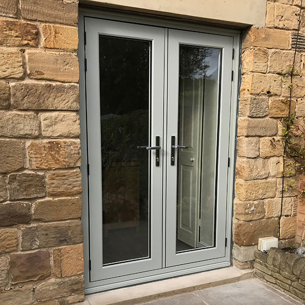 French Doors from Residence 9