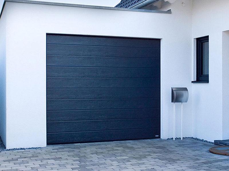 Sectional Blue Garage Door