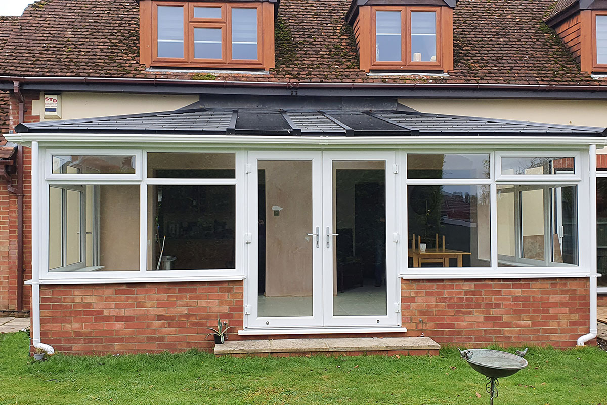 Tiled Roof Conservatory in Basingstoke
